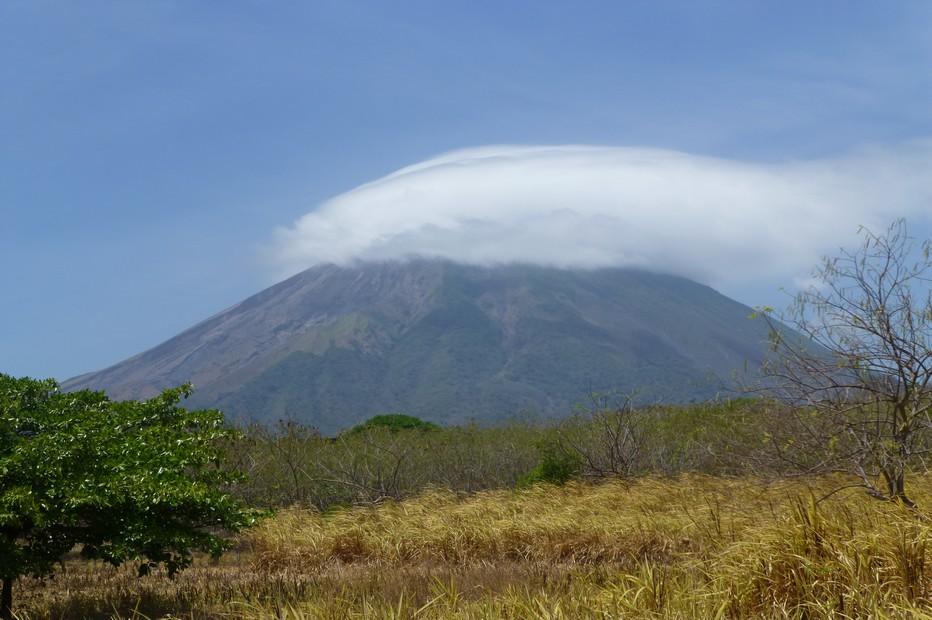 Volcan Concepcion sur l'île d'Ometepe. @ C.Gary