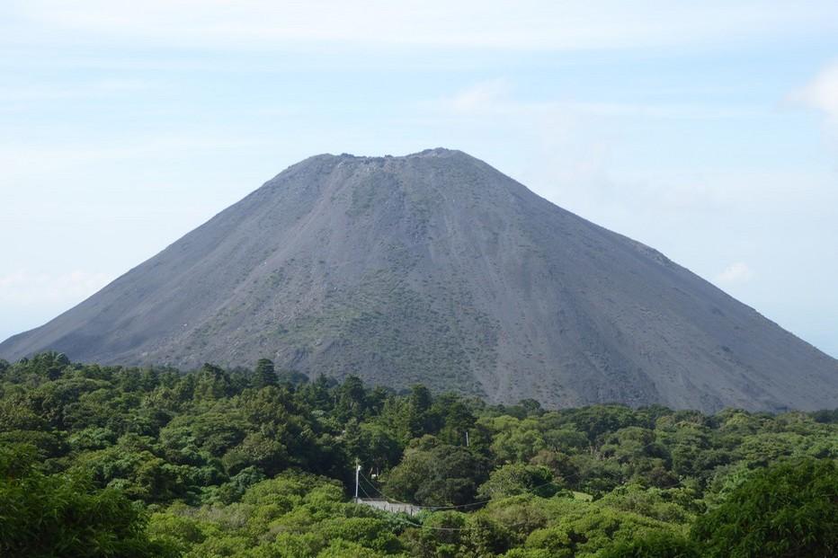 La dernière éruption de l'Izalco date de 1966... @ C.G.