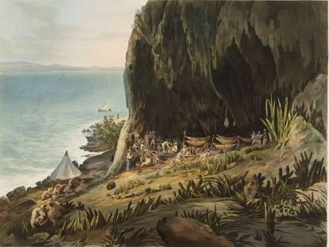 John Eckstein, la vie de la garnison britannique sur le rocher du Diamant.
