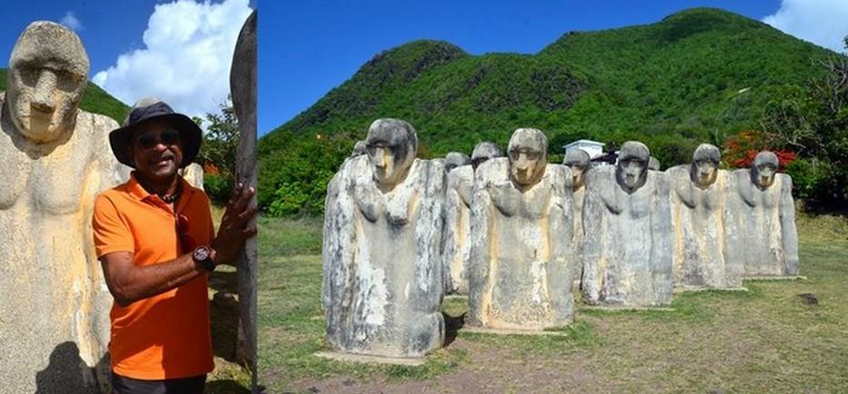 Les statues de Laurent Valère figurent la foule des victimes anonymes de la traite. Crédit photo David Raynal.