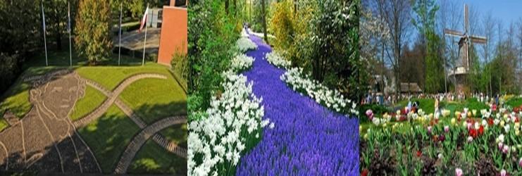 Jardins de Keukenhof (Lisse aux Pays-Bas)