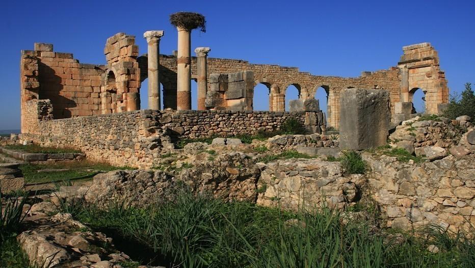 Ruines Romaines de Volubilis près de  Meknès