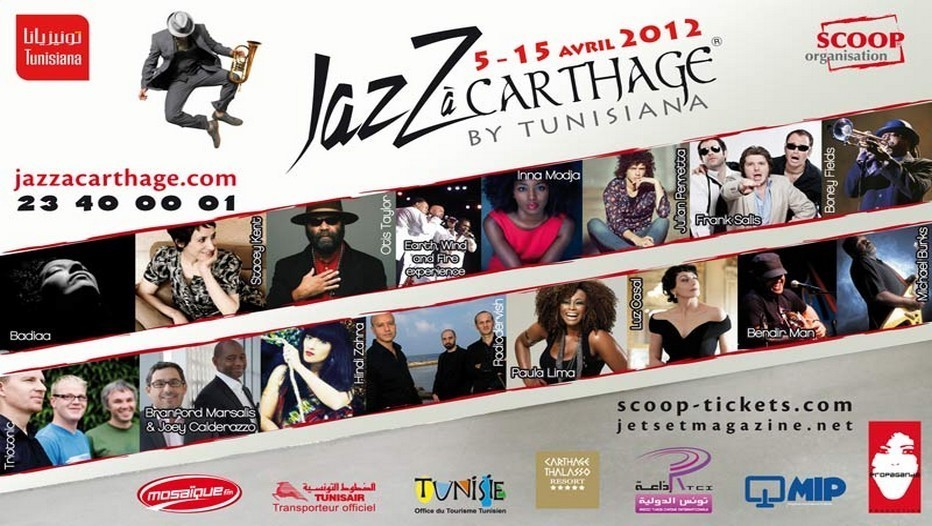 7ème Edition du Jazz à Carthage by Tunisiana : une programmation riche en diversité.
