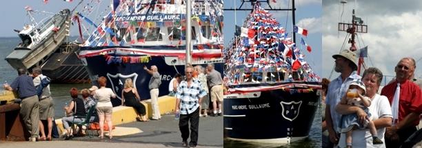 Bénédiction des bateaux à Caraquet (crédit photo : David Raynal).