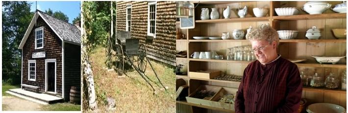 Le village historique acadien de Caraquet offre aux visiteurs un voyage dans le temps (crédit photo : David Raynal/D.R.)