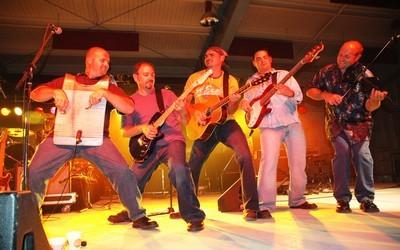 Le groupe de musique acadien Bois Joli (crédit photo : Chris Smith)