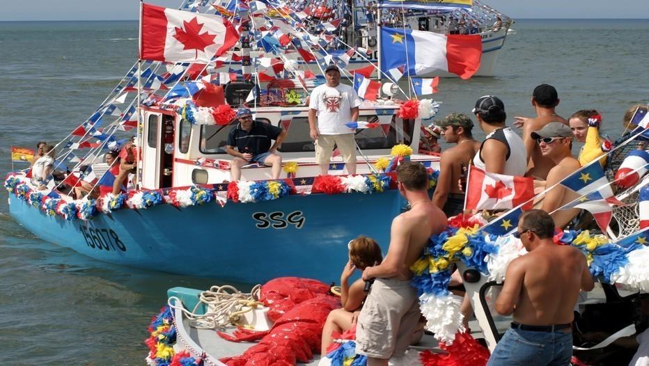 Bénédiction des bateaux à Caraquet (crédit photo : David Raynal)