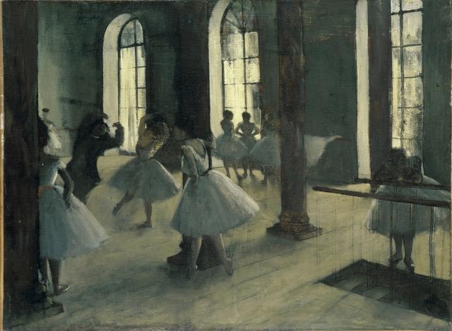 Degas_La répétition au foyer de la danse. @ Musée d'Orsay Paris