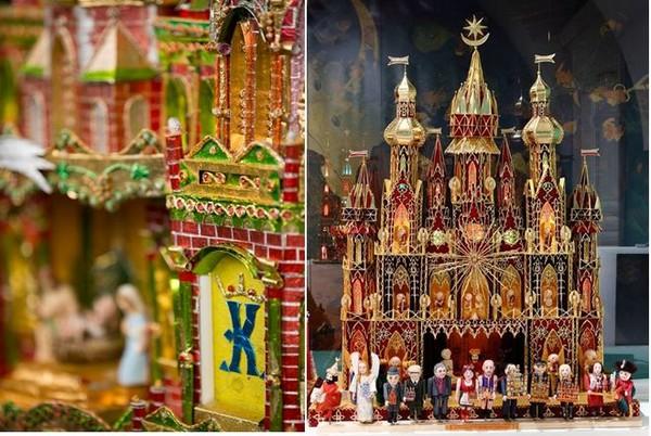 Le palais Krzysztofory accueille l'exposition des lauréats du concours de crèches qui jouit depuis des années du plus grand intérêt des Cracoviens et des touristes. @D.R.