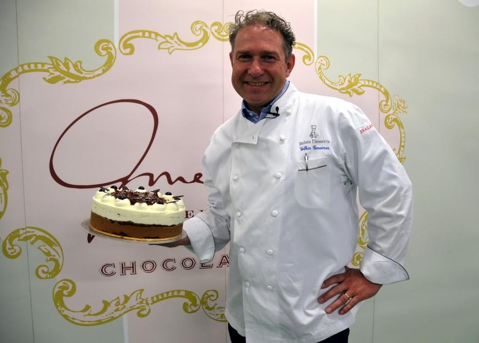 Volker Gmeiner, le maître incontesté du gâteau de Forêt-Noire; @ David Raynal