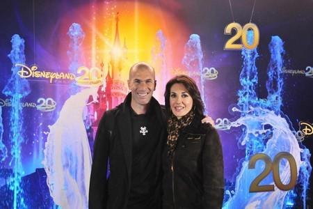 Zinédine Zidane et Salma Hayek pour l'inauguration officielle (Crédit Photo P.Cros)