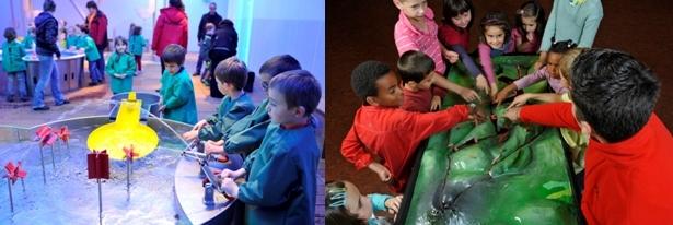 Le coin des expérience pour enfants (photo J.Chabanne)