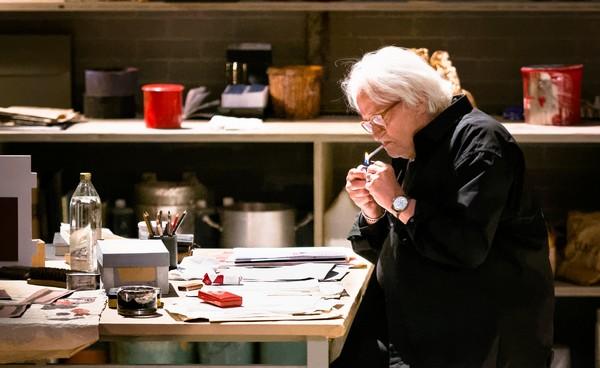 """Niels Arestrup dans """"Rouge"""" au Théâtre Montparnasse. @ DR"""