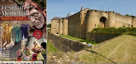 Château-fort de Sedan (Champagne-Ardennes)