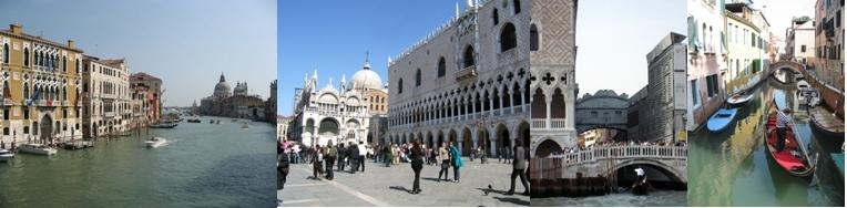 A Venise : Grand Canal, Place Saint-Marc, balade  dans les Canaux