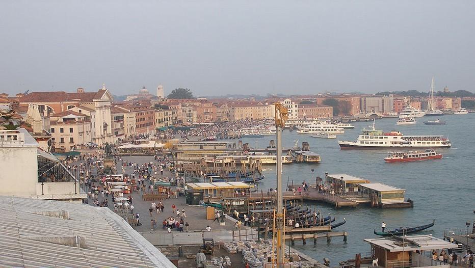 Vue d'ensemble sur Venise