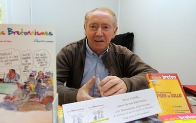 Hervé Lossec au Salon du Livre à Paris