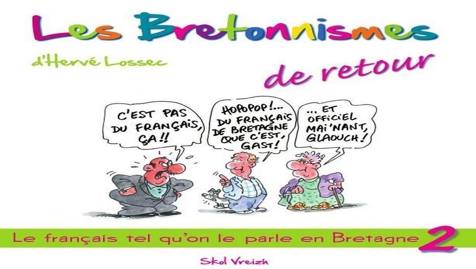 """Couverture Tome 2 des """"Bretonnismes"""" livre d'Hervé Lossec"""