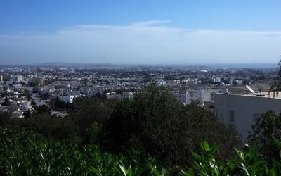 Vue générale de Tunis