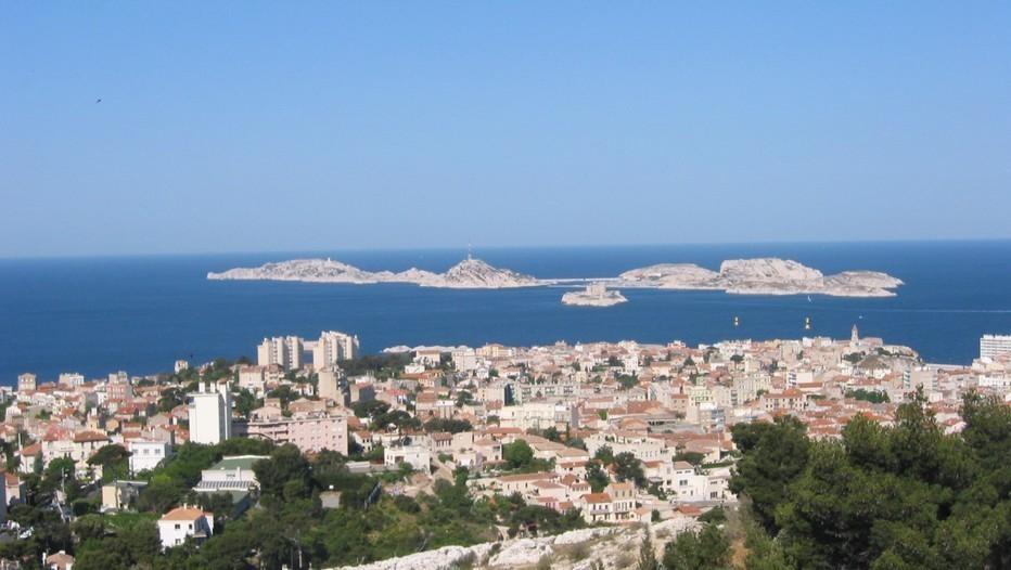 Marseille, îles Frioul