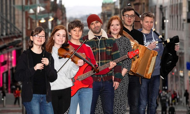 Le Celtic Connections festival se donne également pour mission d'encourager les jeunes talents par le biais de tremplins. Crédit photo D.R.