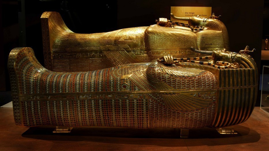 Sarcophage des Pharaons (photo C.Sammel)