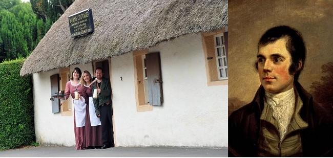 Musée dédié à Robert Burns. A droite son portrait. @ David Raynal et DR