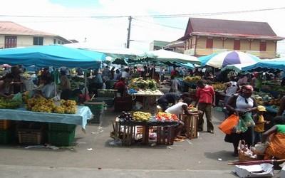 Marché à Saint-Laurent  (Guyane)