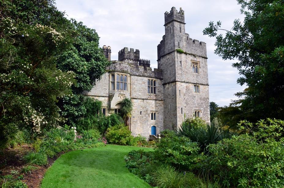 Lismore Castle est un superbe château romantique irlandais du comté de Waterford dans la province de l'Ancient East. Crédit photo David Raynal