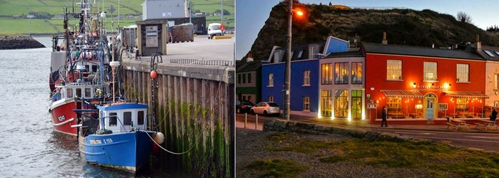Les charmants petits ports de Dingle et Howth. Crédit photo David Raynal et King Sitric.