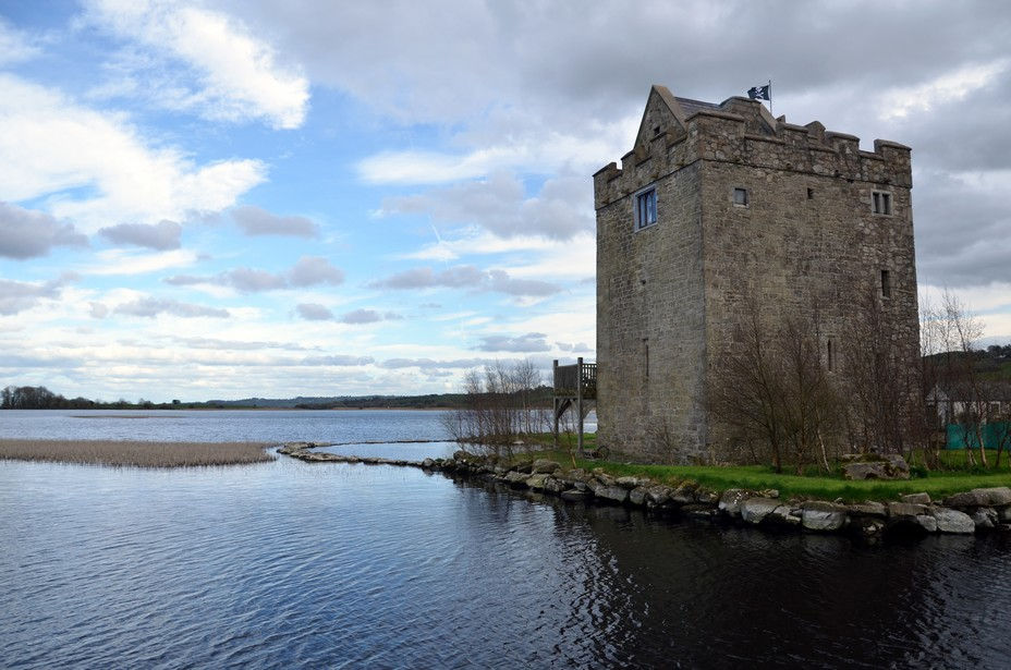 Une forteresse normande sur le Lough Derg. Crédit photo David Raynal