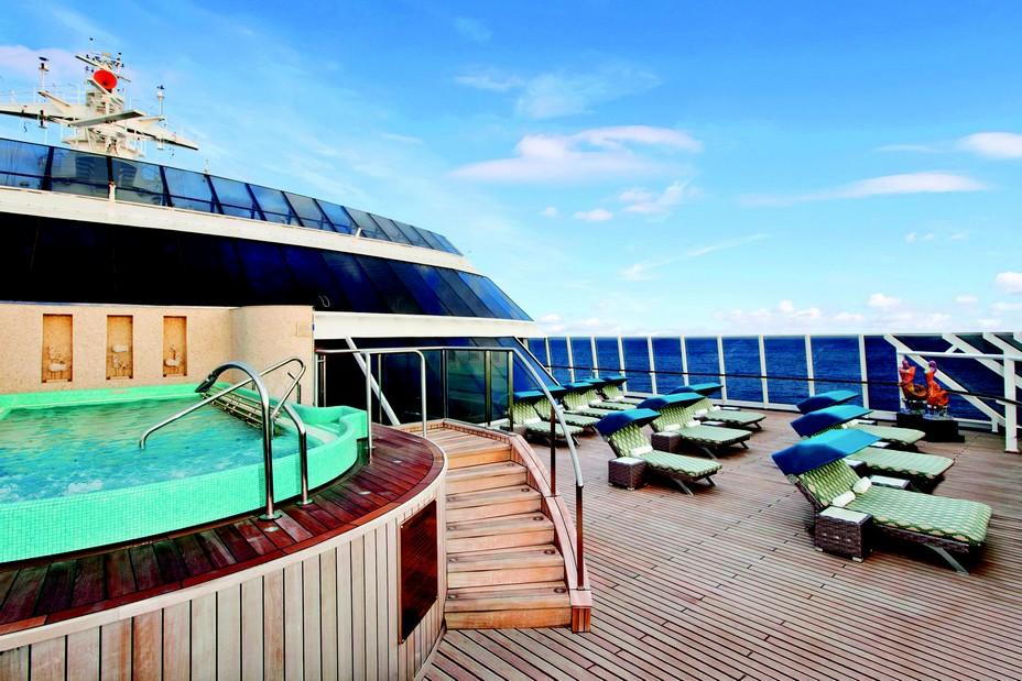 A bord de chaque navire, les passagers ont accès au Aquamar spa +Vitality center, une large gamme de soins bien-être et développement personnel entièrement créée par Oceania Cruises.@ DR