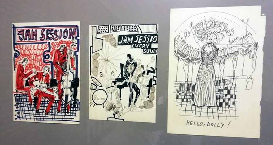 Šlitr est devenu l'un des principaux artistes caricaturistes et illustrateurs tchécoslovaques de la fin des années 50 et 60. @ expo Jiří Šlitr - photo David Raynal