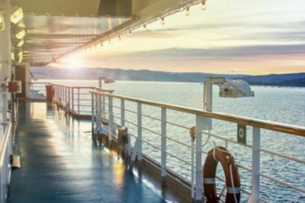 Sur le pont des navires Corsica Ferries. @ DR