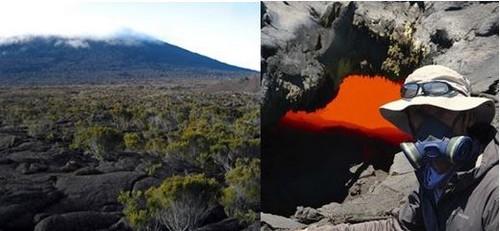 Randonnée sur les terres volcaniques de l'Île de la Réunion. @DR et portrait de Ben Celui Ci @  Ben Celui Ci  VolKaventure