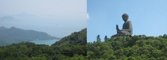 L'Ile de Lantau et son boudha géant (photos Dorothée Verhnes)