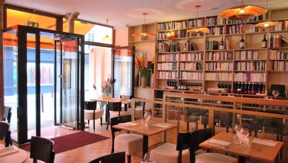 Salle du restaurant Ideles , Paris 11ème.