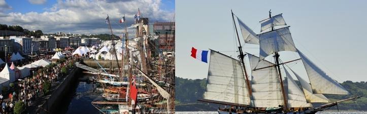 Les Tonnerres de Brest : Le grand rendez-vous de la mer et des voiliers