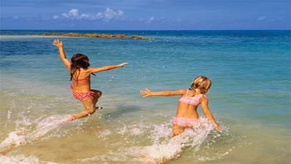 Une plage magnifique à Sainte-Lucie