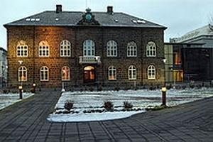 Le parlement Islandais à Reykjavik la capitale