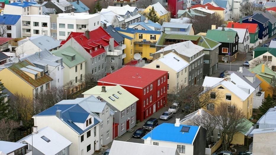 Reykjavik, la capitale d'Islande (Copyright E.Buchot)