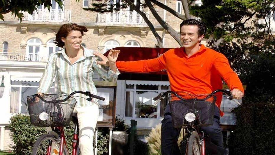 En route pour une balade à vélo dans les environs de cette magnifique région
