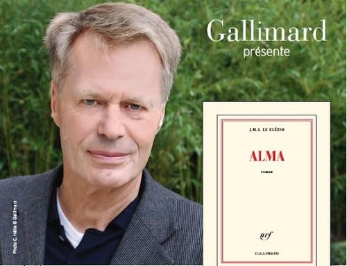 """J.M.G. Le Clézio prix Nobel de littérature est aussi l'auteur de """"Alma"""" Hymne à l'amour, qui se déroule à Maurice, terre des ancêtres de l'auteur. @ Gallimard"""