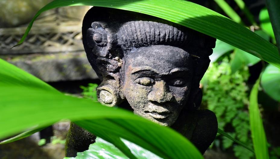 Détail d'un temple à Bali @ David Raynal
