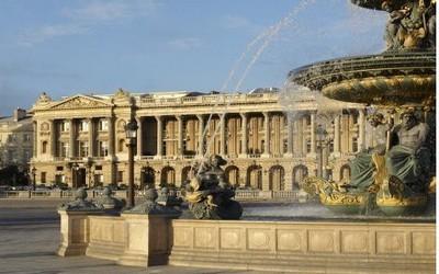 Hôtel Crillon, Place de la Concorde à Paris