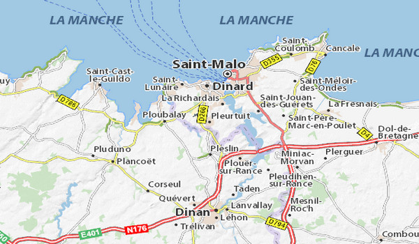 Via Michelin carte @ DR