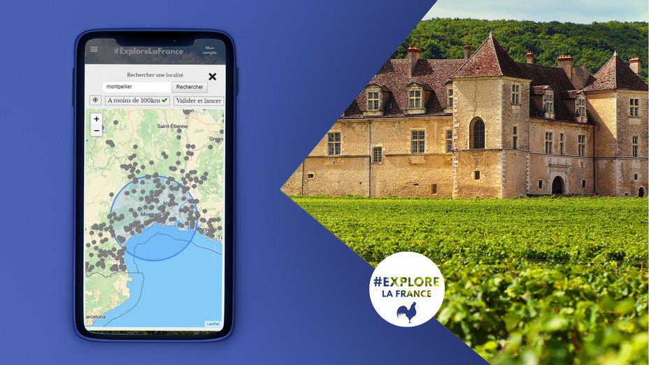 C'est donc un tourisme plus local, plus durable avec une recherche forte d'expériences humaines et de partage qui va être plébiscité cet été grâce à l'application #ExploreLaFrance @DR