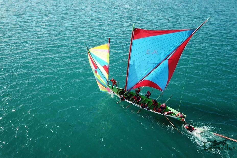 La yole, emblème patrimonial de l'île, en course pour l'UNESCO @ D.R.