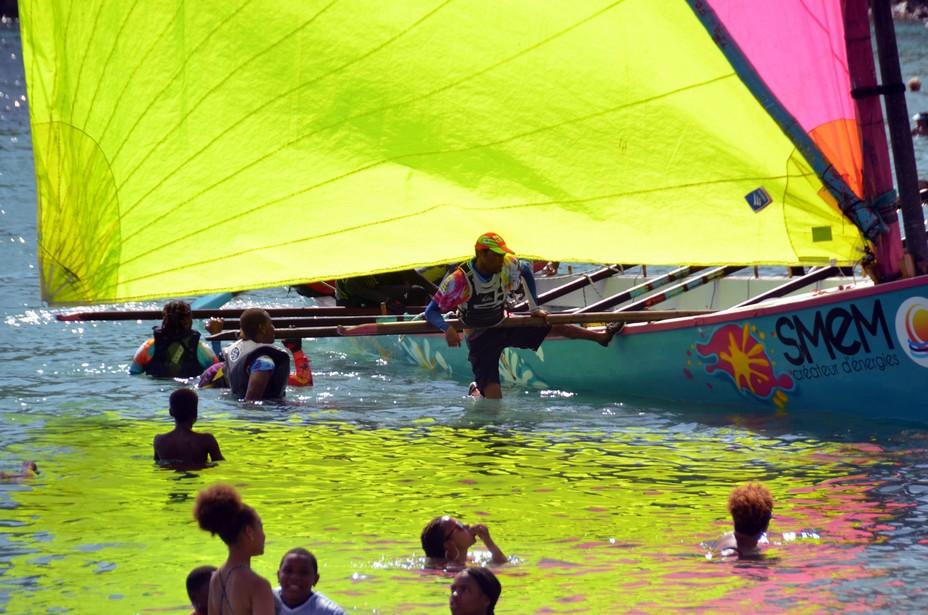 La yole, embarcation traditionnelle des pêcheurs de la Caraïbe en course pour l'UNESCO. La réponse de l'Unesco sera connue en octobre prochain.@ David Raynal