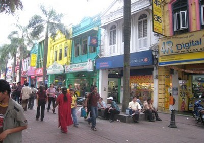 Quartier Chinois à Kuala Lumpur (photo Catherine Gary)